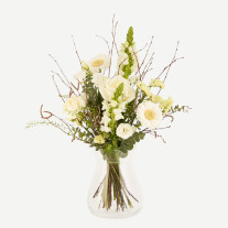 White airy bouquet
